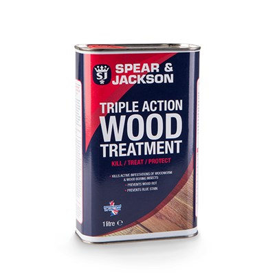 Spear and Jackson Triple Action Wood Treatment