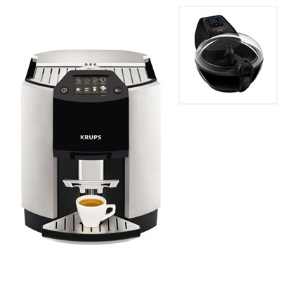 KRUPS Espresseria Bean to Cup Coffee Machine EA9010 and Free Actifry Smart XL 1.7kg