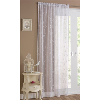 Pair of Florence (55 x 90 inch drop) Voile Panels