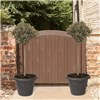 Pair of 90cm Olive Tree Standards with Tuscany Planters