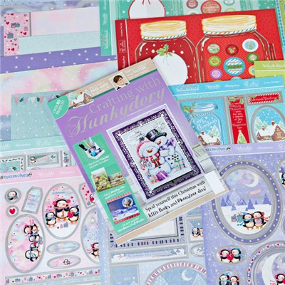 Crafting with Hunkydory Issue 36 with Deluxe Card Collection