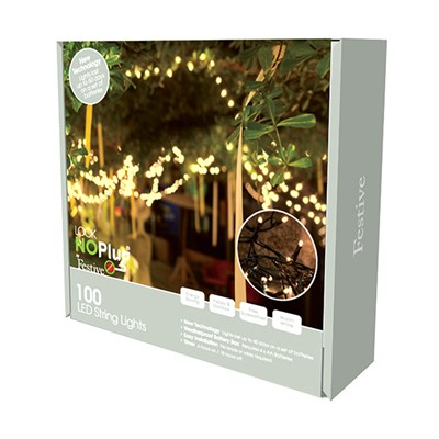 100 Battery Operated String Lights