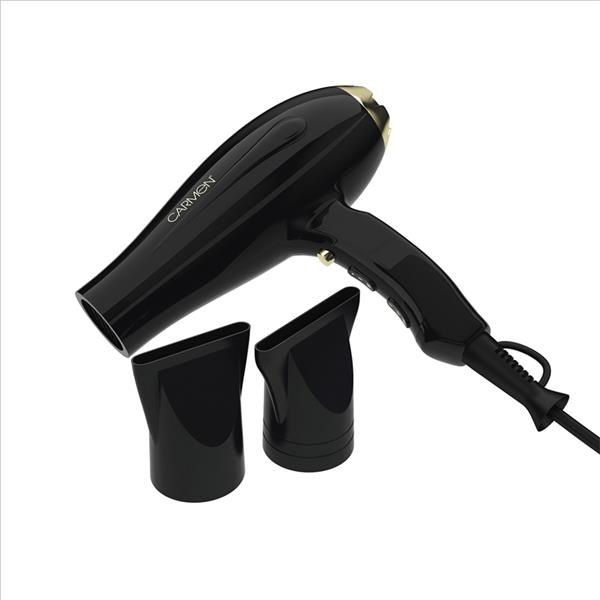 Carmen 2200W Ac Hair Dryer - Black