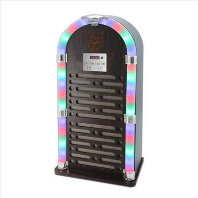 Itek Bluetooth Jukebox - Brown