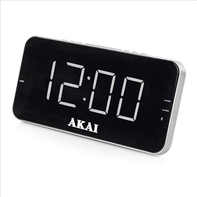 Akai Pll Am/Fm Alarm Clock Radio