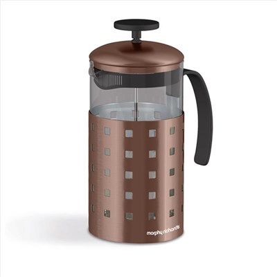 8 Cup Cafetiere 1000ml Copper