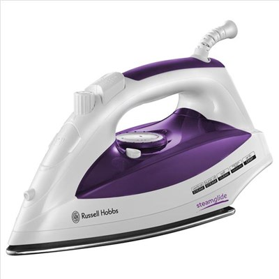 Russell Hobbs Purple/White Supreme Steam Iron 2400W