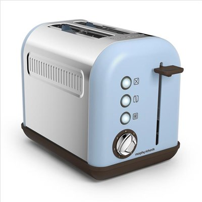 Accents 2 Slice Toaster Azure