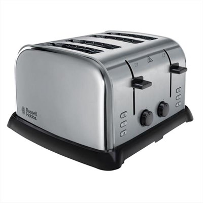 4 Slice Wide Slot Toaster