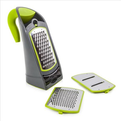 Tower 3 In 1 Grater Green  Graphite - Green