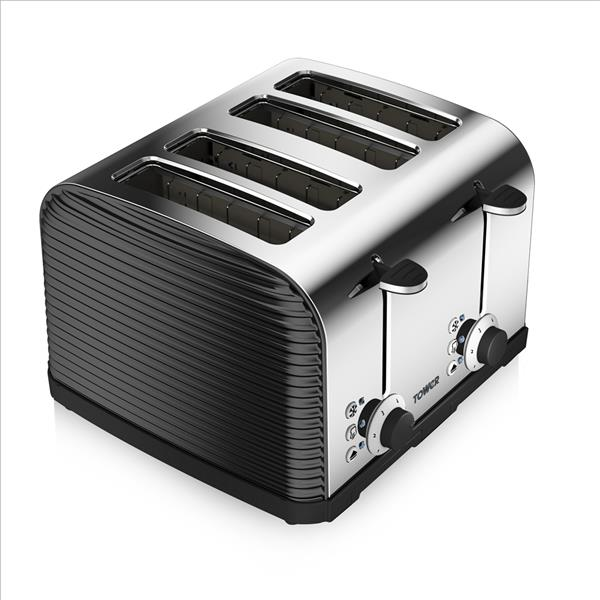 Tower 4 Slice Linear Toaster
