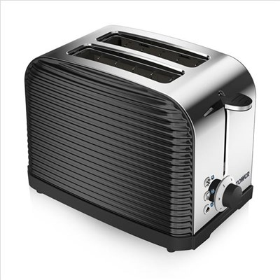 Tower 2 Slice Linear Toaster