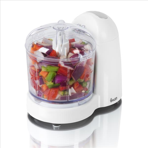 Swan Mini Food Chopper - White
