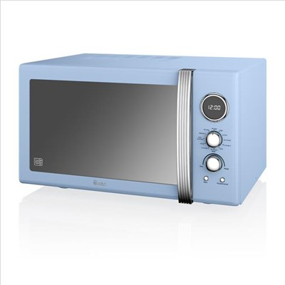 Swan 25L Digital Combi Microwave - Blue