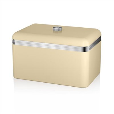 Swan Retro Bread Bin Cream - Cream