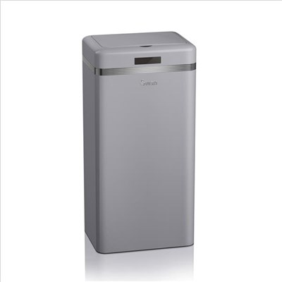 Swan Retro 45L Square Sensor Bin - Grey