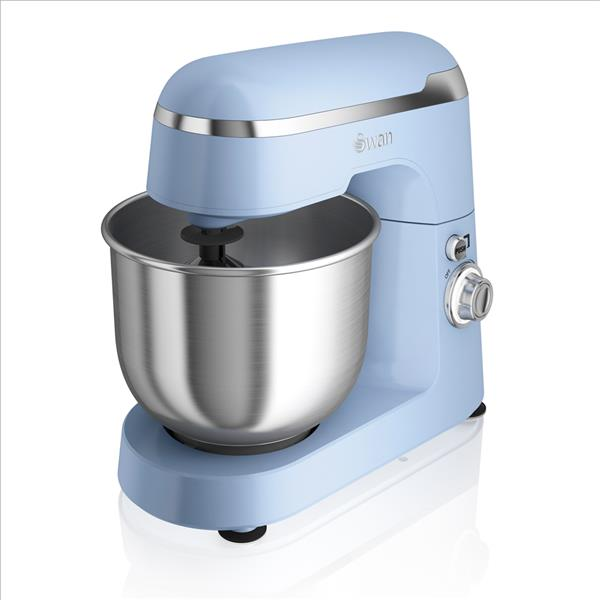 Swan Retro Stand Mixer Blue - Blue