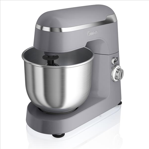 Swan Retro Stand Mixer Grey - Grey
