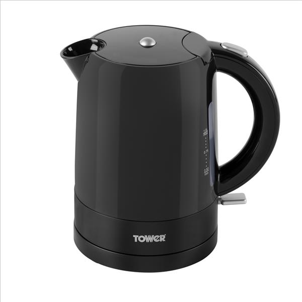 Tower 1L Jug Kettle - Black