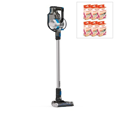 Vax 32v Blade Cordless Stick Vacuum Cleaner with Pack of 6 Carpet Granules