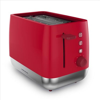 Morphy Richards Chroma Toaster Poppy Poppy