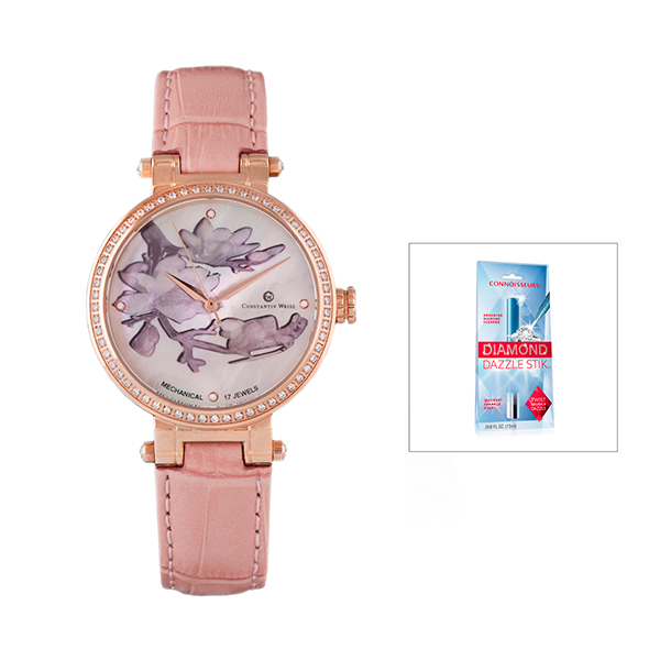 Constantin Weisz Ladies' Watch with FREE Dazzle Stick Rose Gold