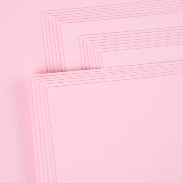 Kanban A4 Craft Card 240Gsm 20 Sheet Bulk Pack Single Colour Pink No Colour