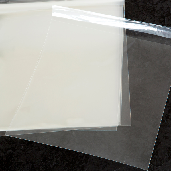 "Kanban Cello Bags Self Seal 8"" Square 210 210 26 Pack Of 100 Clear No Colour"