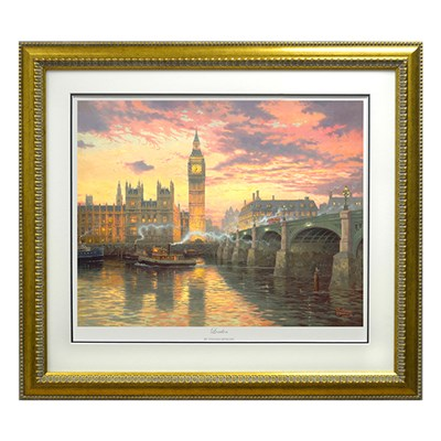 Thomas Kinkade London Limited Edition Print