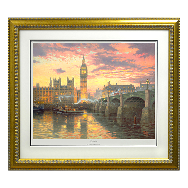 Thomas Kinkade London Limited Edition Print No Colour