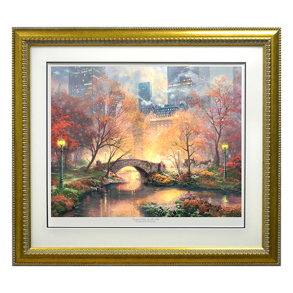 Thomas Kinkade Central Park In The Fall Limited Edition Print No Colour