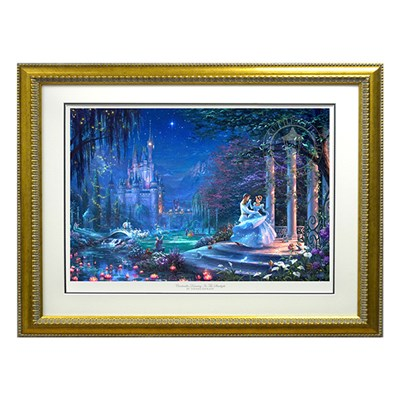 Thomas Kinkade Cinderella Dancing In The Starlight Limited Edition