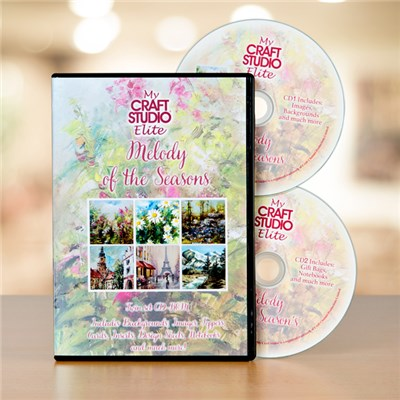 My Craft Studio Melody of the Seasons Twinset CD ROM