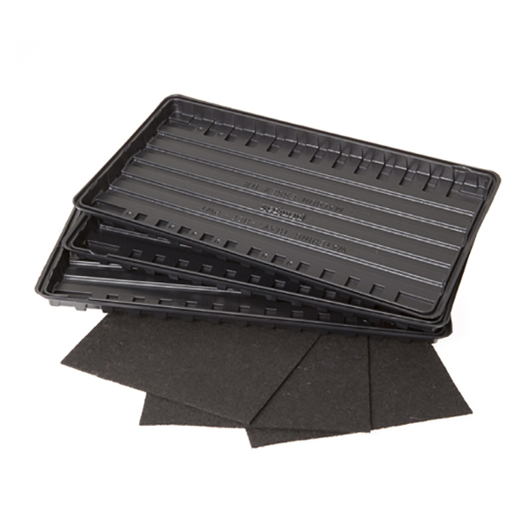 Watering Trays and Capillary Mats (3 Pack) No Colour
