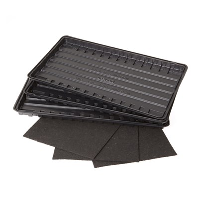 Watering Trays and Capillary Mats (3 Pack)