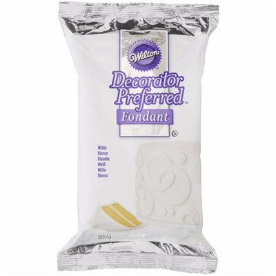 Wilton Decorator Preferred Fondant White - 500g