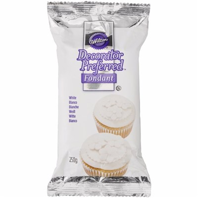 Wilton Decorator Preferred Fondant White - 250g