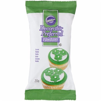 Wilton Intl Decorator Preferred Fondant Green 250g