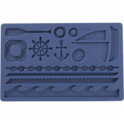 Wilton Fondant Gum Paste Mould Nautical