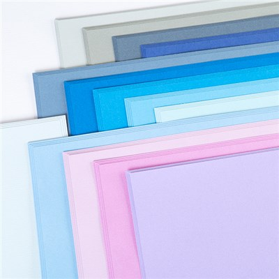 American Crafts 12x12 Winter Cardstock - 60 Sheets