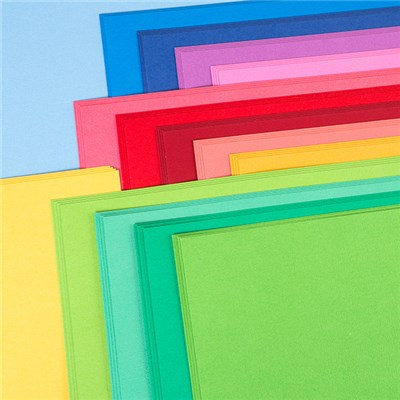 American Crafts 12x12 Summer Cardstock - 60 Sheets