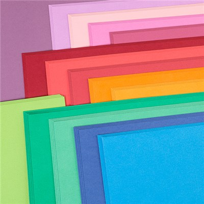 American Crafts 12x12 Brights Cardstock - 60 Sheets