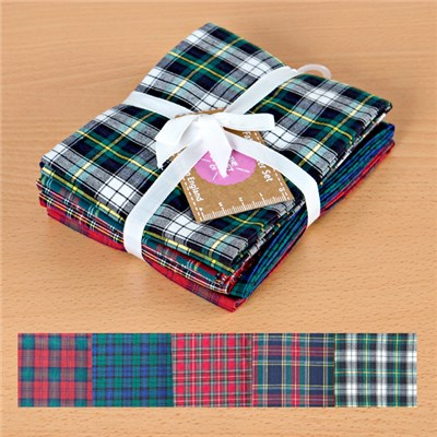 Tartan Cotton Fat Quarters