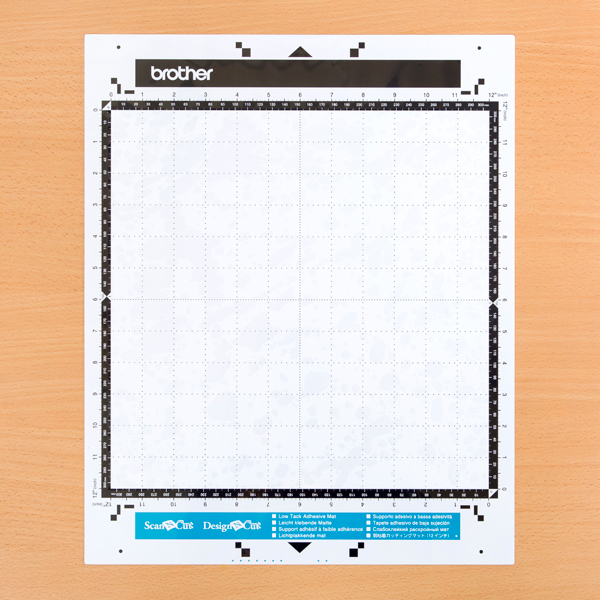 Brother ScanNCut Low Tack Mat 12 x 12 No Colour