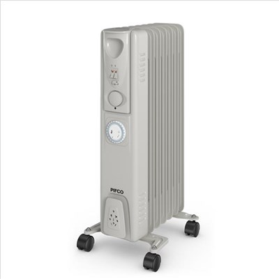 Pifco 1500W Oil Filled Radiator