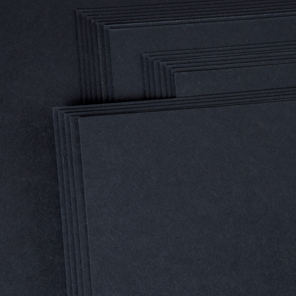 Kanban A4 Craft Card 240Gsm 20 Sheet Bulk Pack Single Colour Black No Colour