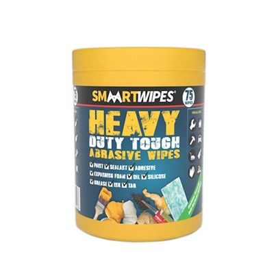 Heavy Duty Abrasive Wipes Pack of 75