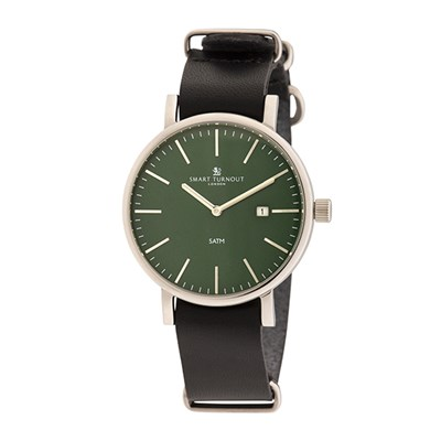 Smart Turnout London Gent's Duke Watch with Leather Strap