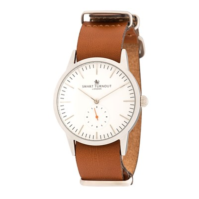 Smart Turnout London Gent's Signature Watch with Leather Strap