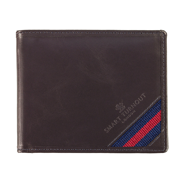 Strap Front Leather Wallet Household Division